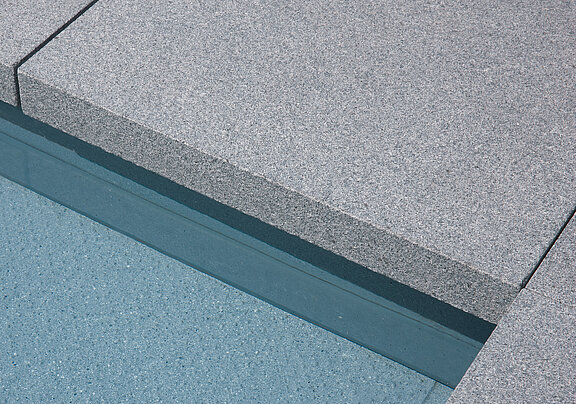 Granite curbs